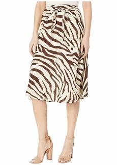 Ralph Lauren Linen A-Line Skirt