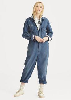 Ralph Lauren Linen-Blend Jumpsuit