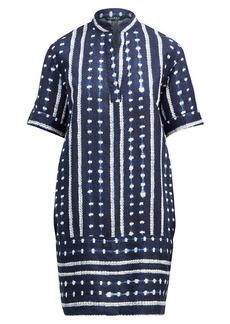 Ralph Lauren Linen-Blend Shift Dress