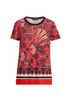 Ralph Lauren Linen-Blend T-Shirt