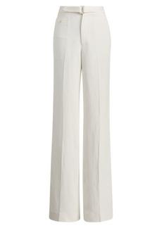 Ralph Lauren Linen-Blend Wide-Leg Trouser