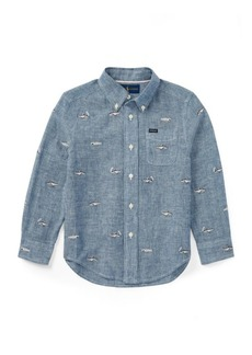 Ralph Lauren Linen-Cotton Chambray Shirt
