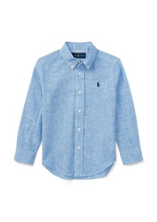 Ralph Lauren Linen-Cotton-Chambray Shirt