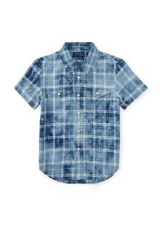 Ralph Lauren Linen-Cotton Western Shirt