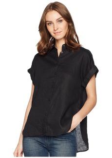 Ralph Lauren Linen Dolman-Sleeve Shirt