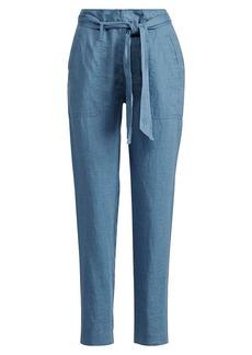 Ralph Lauren Linen High-Rise Pant