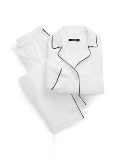 Ralph Lauren Linen Pajama Set