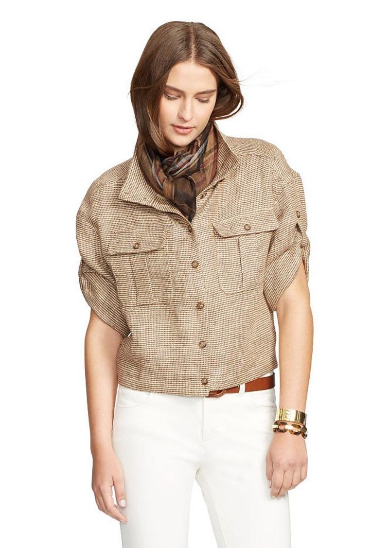 Ralph Lauren Linen Tweed Jacket