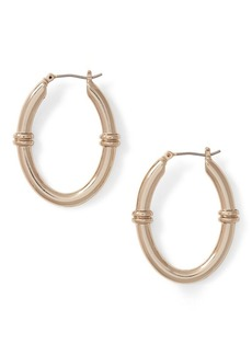 Ralph Lauren Link Hoop Earrings