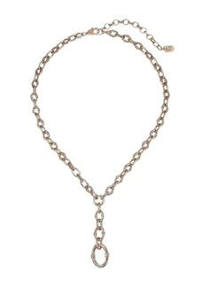 Ralph Lauren Link Toggle Y Necklace
