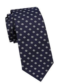 Ralph Lauren Linked-Squares Silk Tie