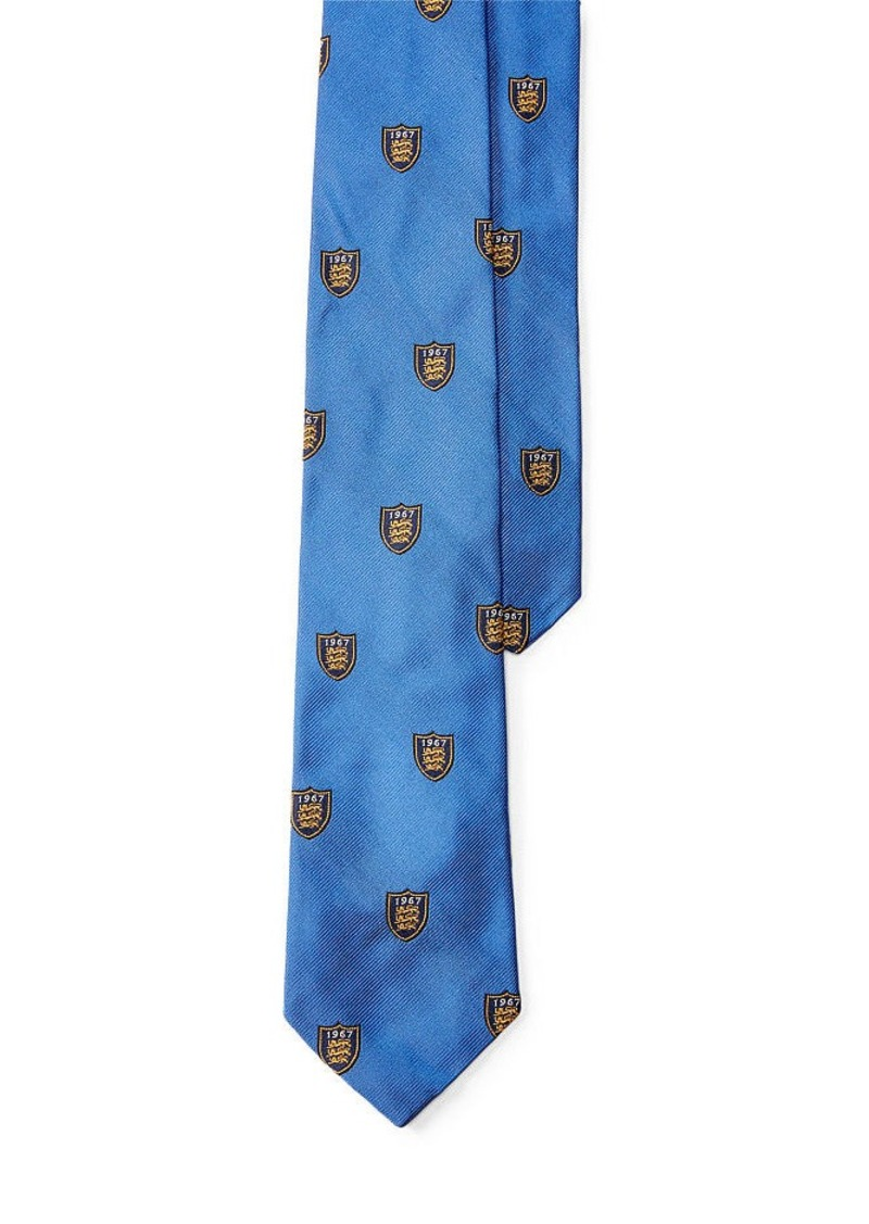 Ralph Lauren Lion Shield Club Tie
