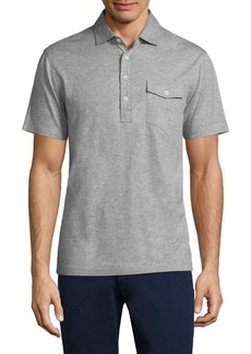 Ralph Lauren Lisle Heathered Cotton Polo