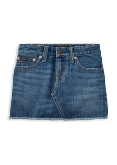 Ralph Lauren Little Girl's & Girl's Denim Skirt