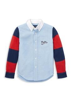 Ralph Lauren Little Boy's & Boy's Novelty Button-Down Shirt