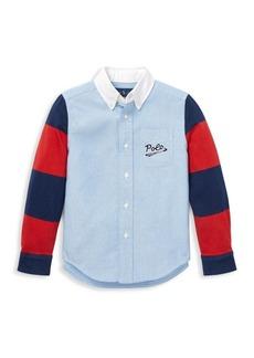 Ralph Lauren Little Boy's & Boy's Novelty Button-Down Shirt