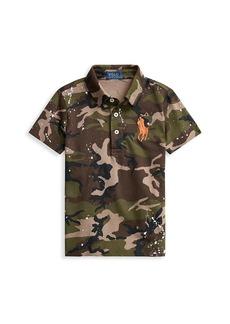 Ralph Lauren Little Boy's & Boy's Camo-Print Polo Shirt