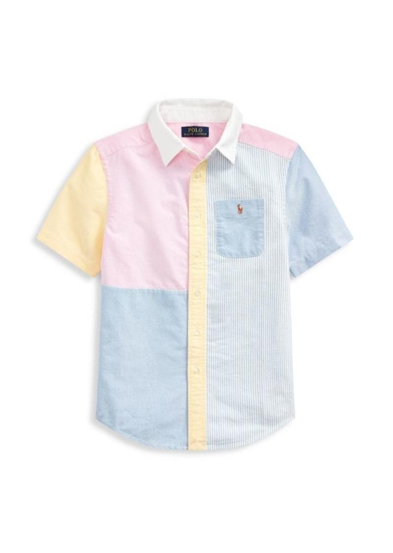 Ralph Lauren Little Boy's & Boy's Candy-Colored Button-Front Shirt