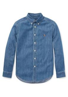 Ralph Lauren Little Boy's & Boy's Chambray Shirt