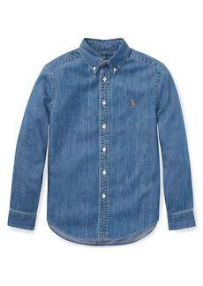 Ralph Lauren Little Boy's & Boy's Chambray Shirt