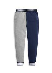 Ralph Lauren Little Boy's & Boy's Colorblock Lightweight Terry Sweatpants