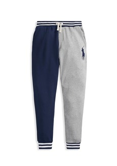 Ralph Lauren Little Boy's & Boy's Colorblock Lightweight Terry Sweatpants