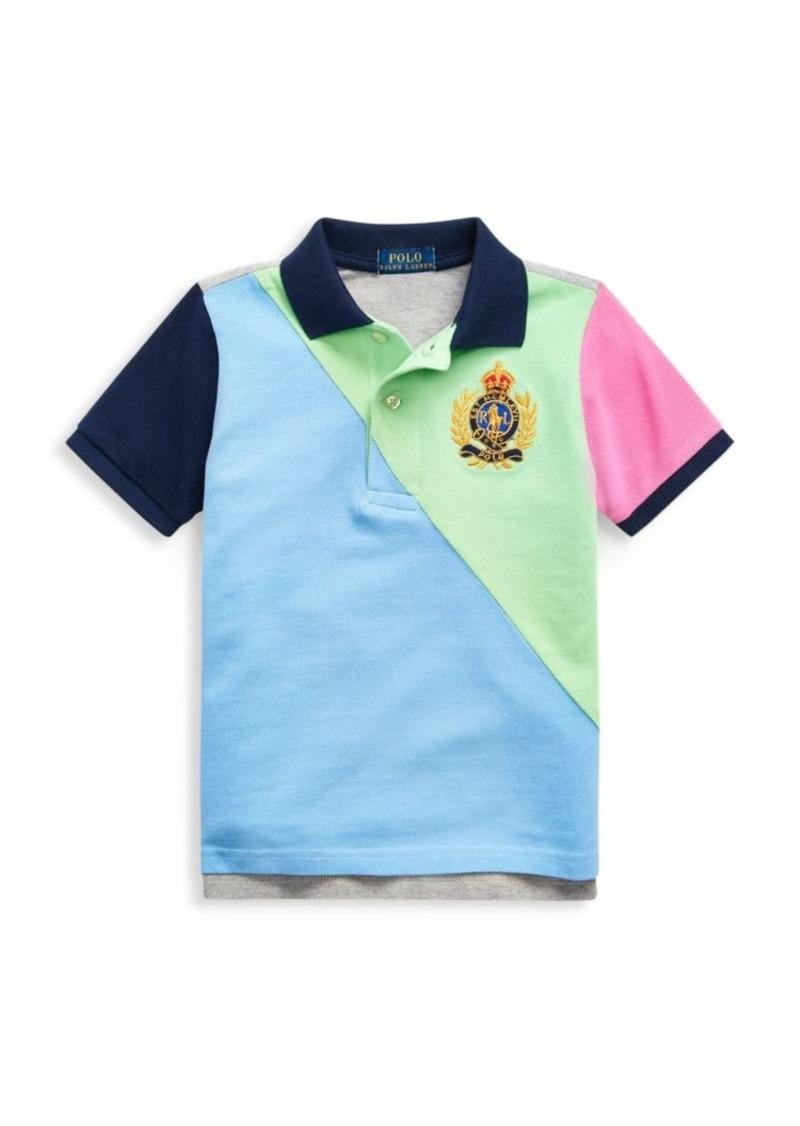 Ralph Lauren Little Boy's & Boy's Colorblock Polo Shirt