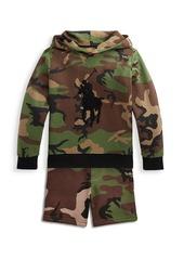 Ralph Lauren Little Boy's & Boy's Cotton-Blend Hoodie