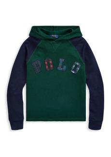 Ralph Lauren Little Boy's & Boy's Cotton Hoodie