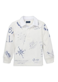 Ralph Lauren Little Boy's & Boy's Cotton Jersey Rugby Shirt