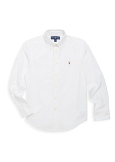 Ralph Lauren Little Boy's & Boy's Cotton Oxford Sport Shirt