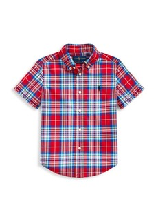 Ralph Lauren Little Boy's & Boy's Cotton Plaid Shirt