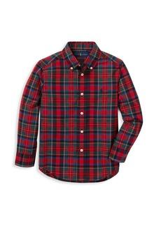 Ralph Lauren Little Boy's & Boy's Cotton Poplin Shirt