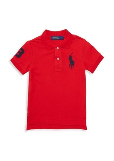 Ralph Lauren Little Boy's & Boy's Cotton Short Sleeve Polo Shirt