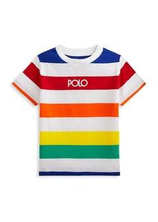 Ralph Lauren Little Boy's & Boy's Cotton Striped T-Shirt