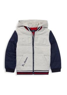 Ralph Lauren Little Boy's & Boy's Double Knit Varsity Jacket