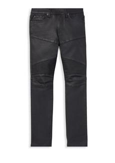 Ralph Lauren Boy's Moto-Style Skinny Jeans
