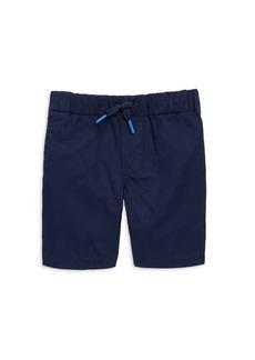 Ralph Lauren Little Boy's & Boy's Embroidered Logo Cotton Chino Shorts