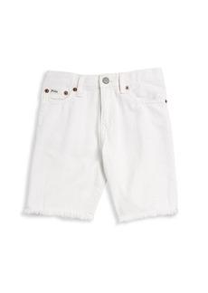 Ralph Lauren Little Boy's & Boy's Five-Pocket Denim Shorts
