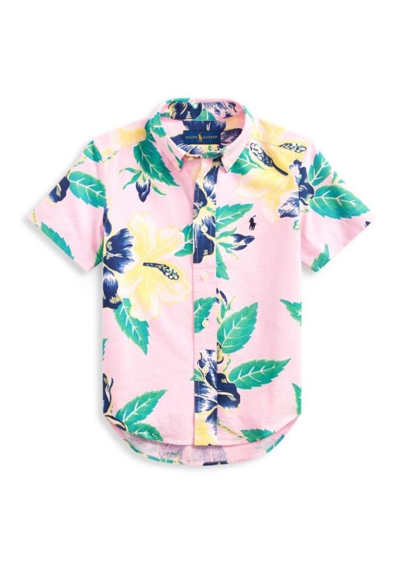 Ralph Lauren Little Boy's & Boy's Floral Shirt