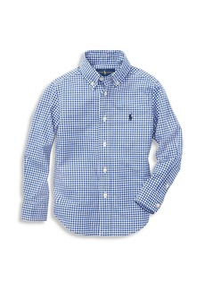 Ralph Lauren Little Boy's & Boy's Gingham Check Shirt