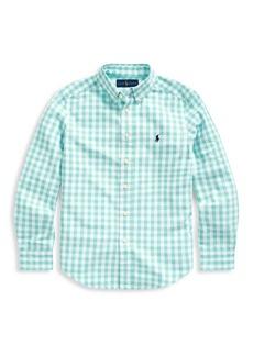 Ralph Lauren Little Boy's & Boy's Gingham Shirt