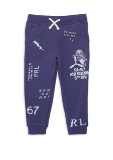 Ralph Lauren Little Boy's & Boy's Graphic Sweatpants