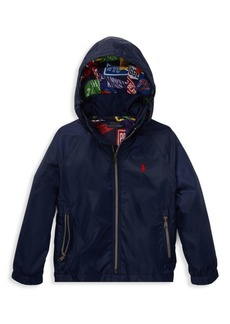 Ralph Lauren Little Boy's & Boy's Hooded Windbreaker Jacket