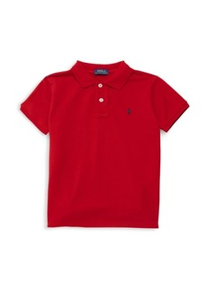 Ralph Lauren Little Boy's & Boy's Knit Polo Shirt