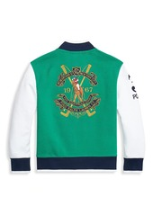 Ralph Lauren Little Boy's & Boy's Letterman Jacket