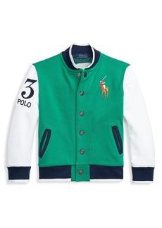 Ralph Lauren Little Boy's & Boy's Letterman Jacket