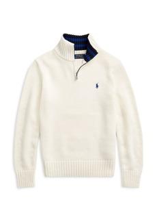 Ralph Lauren Little Boy's & Boy's Logo-Embroidered Sweater