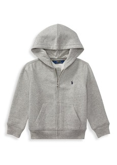 Ralph Lauren Little Boy's & Boy's Long Sleeve Fleece Hoodie