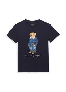 Ralph Lauren Little Boy's & Boy's Mascot Jersey T-Shirt